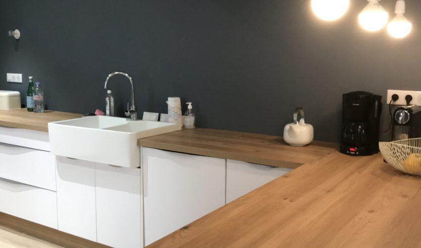 Surélévation d'un garage et réaménagement en chambre et salon