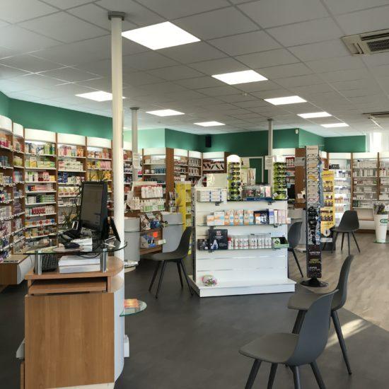 Réaménagement d'une Pharmacie